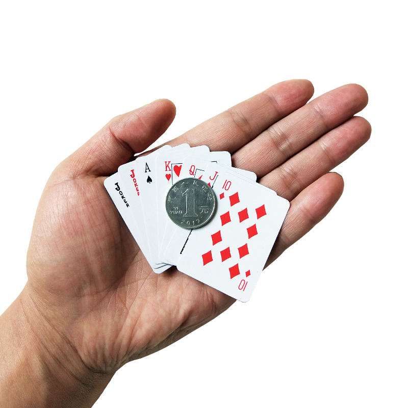 Free Shipping Funny Mini Poker Playing Cards Game Outside Outdoor Travel Creative Child Poker Card Hot Sale Table Board Game