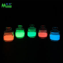 MT High brightness No toxic No harm No radioactive Colored Glow In The Dark Powder Pigment For Glow Ink