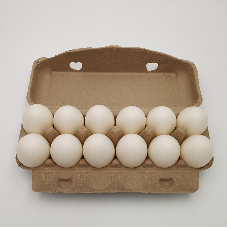 Eco-friendly pulp egg cartons recyclable paper eggs box biodegradable paper egg tray