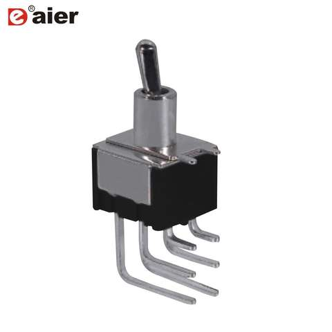 2 IP67 Sealed Subminiature toggle switches SPDT 90° 303