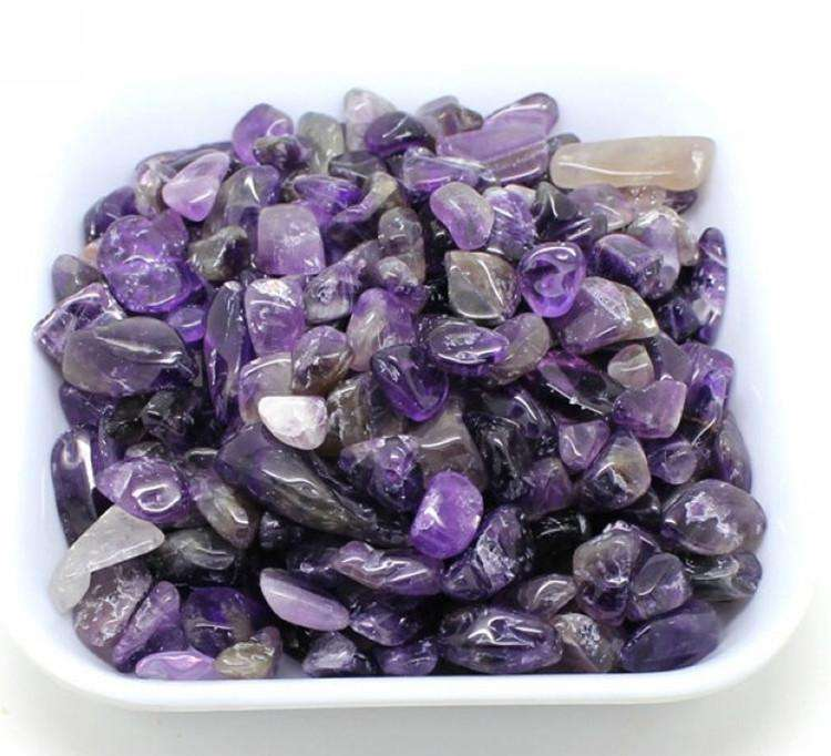 Nature Amethyst Rose Quartz Rock Crystals Healing Stones Gravel Tumbled Stone Raw Amethyst Tooth Stone for decoration