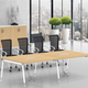 Desk Office Combination Office Simple Board Desk Office Desk Multifunctional Staff Desk And Chair Combination
