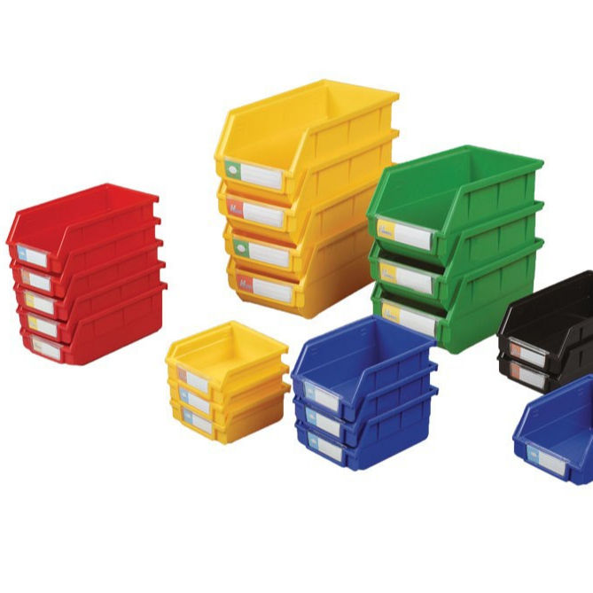 PP Warehouse Industrial Storage box Plastic Storage Bins