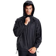 Oem Dom Quarter Zip Windbreaker Men'S Casual Outdoor Sports Waterproof Cycling Jackets
