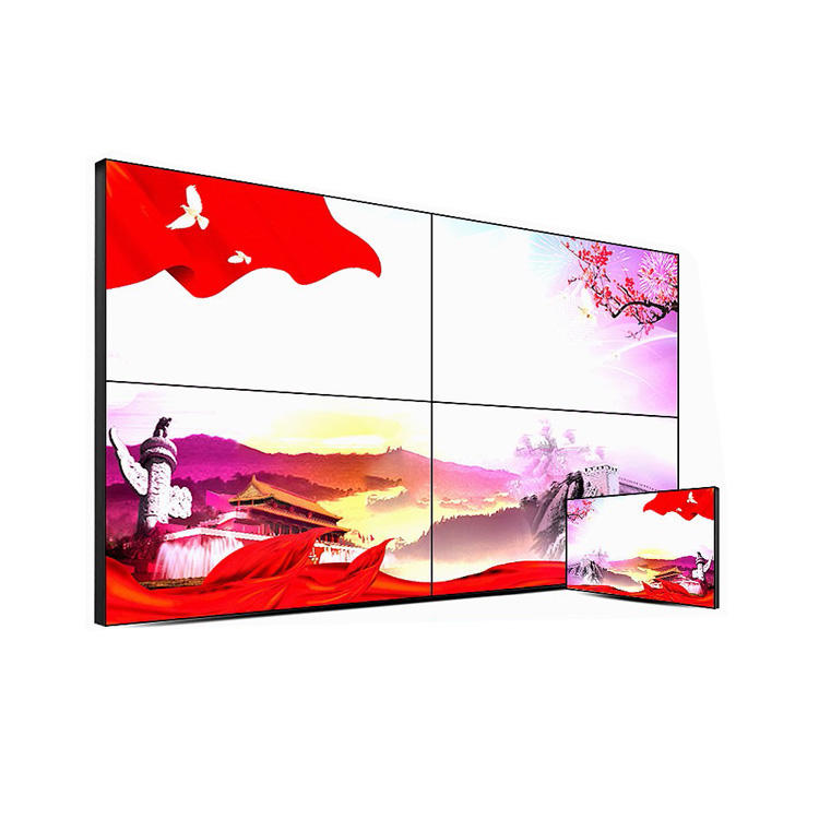 "Best Selling 55Inch 500ニットBrightsign Big Size Lcd Screenm Split DIY 55 ""Video Wall Panel"