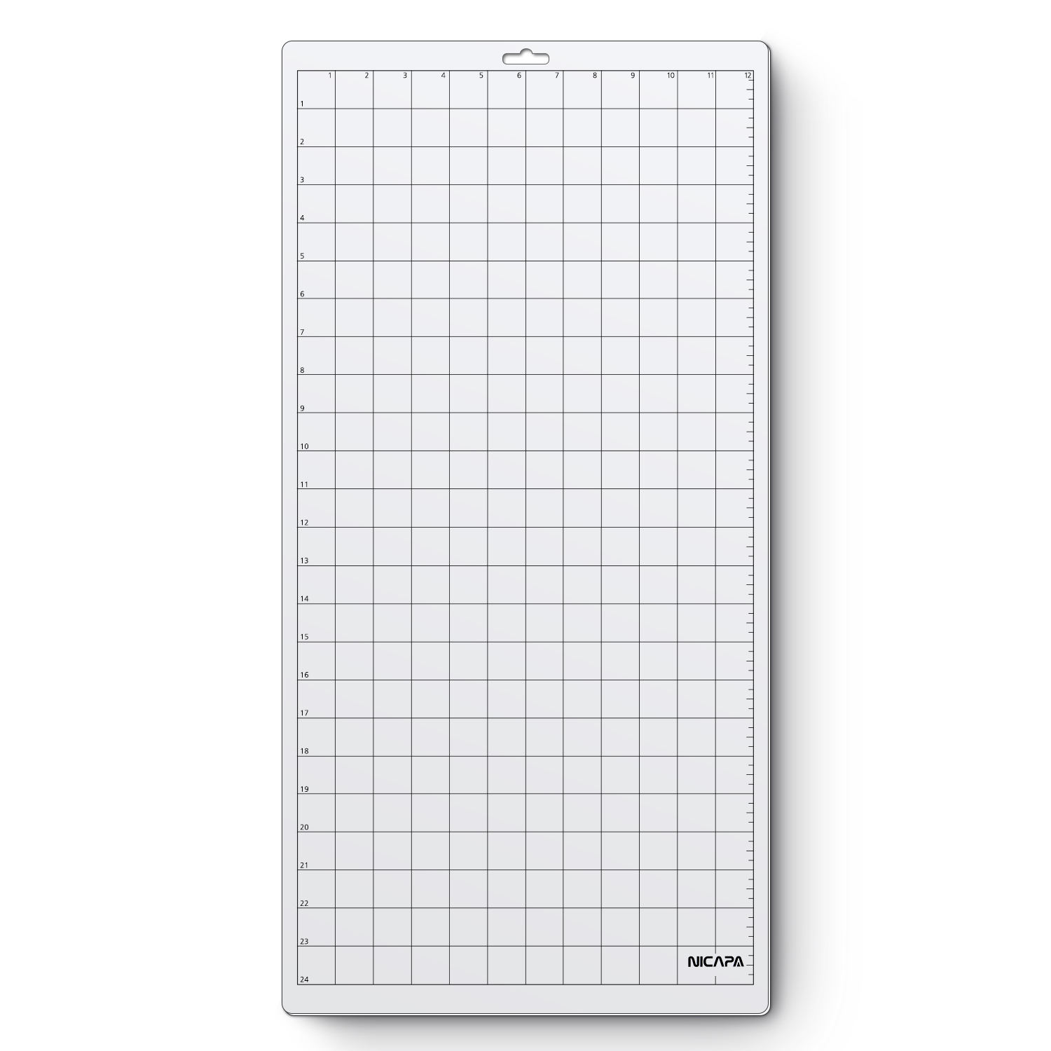 nicapa plotter cutting mat for Silhouette machine, 12 x 24 inch, standard-grip,1 pcs/pack