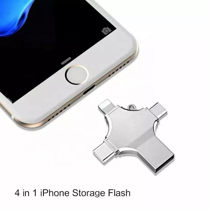 256GB 64GB 32GB 16GB 8GB Usb Flash Drive 3.0 Usb 128GB Flash Pendrive Type C Smartphone Mirco USB otg Memory Stick for iPhone