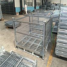 Cheap Price Steel folding storage warehouse wire mesh cage