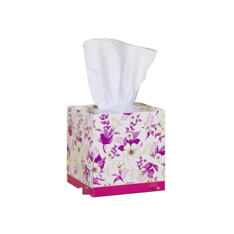 Soothes sore noses with a cooling sensation and the comforting softness of facial tissue