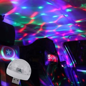 Led Kleine Magische Bal Voor Led Stage Light Party Sound Control Mini Effect Usb Bal Dj Verlichting Disco