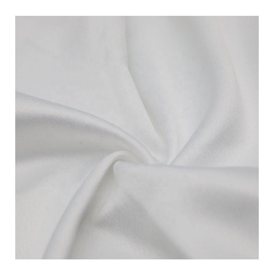 50*75 Soft Comfortable Fabric Silk Crepe de chine Fabric Polyester Satin Silk Fabric for Garment