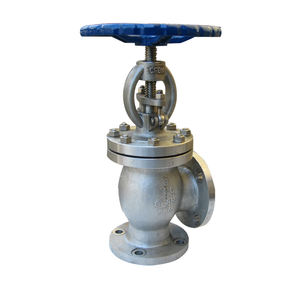 WZLD stainless steel Angle type globe valve