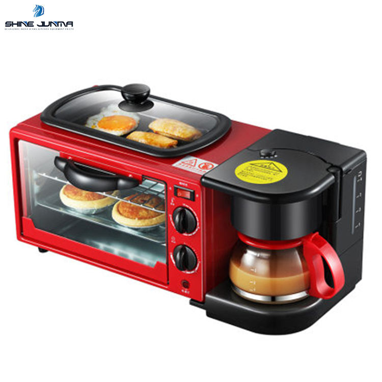 3 in 1 breakfast machine Small breakfast machine that can make coffee