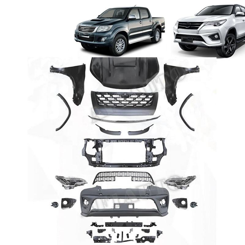 Replacement 4x4 Car Accessories Body Kit For Vigo 2012 Convert To Fortuner 2016
