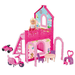Eco-Friendly Vinyl Baby Doll House Set Model Toys for Sales