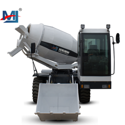 China Factory Promotion mobile self loading cement mortar mixer