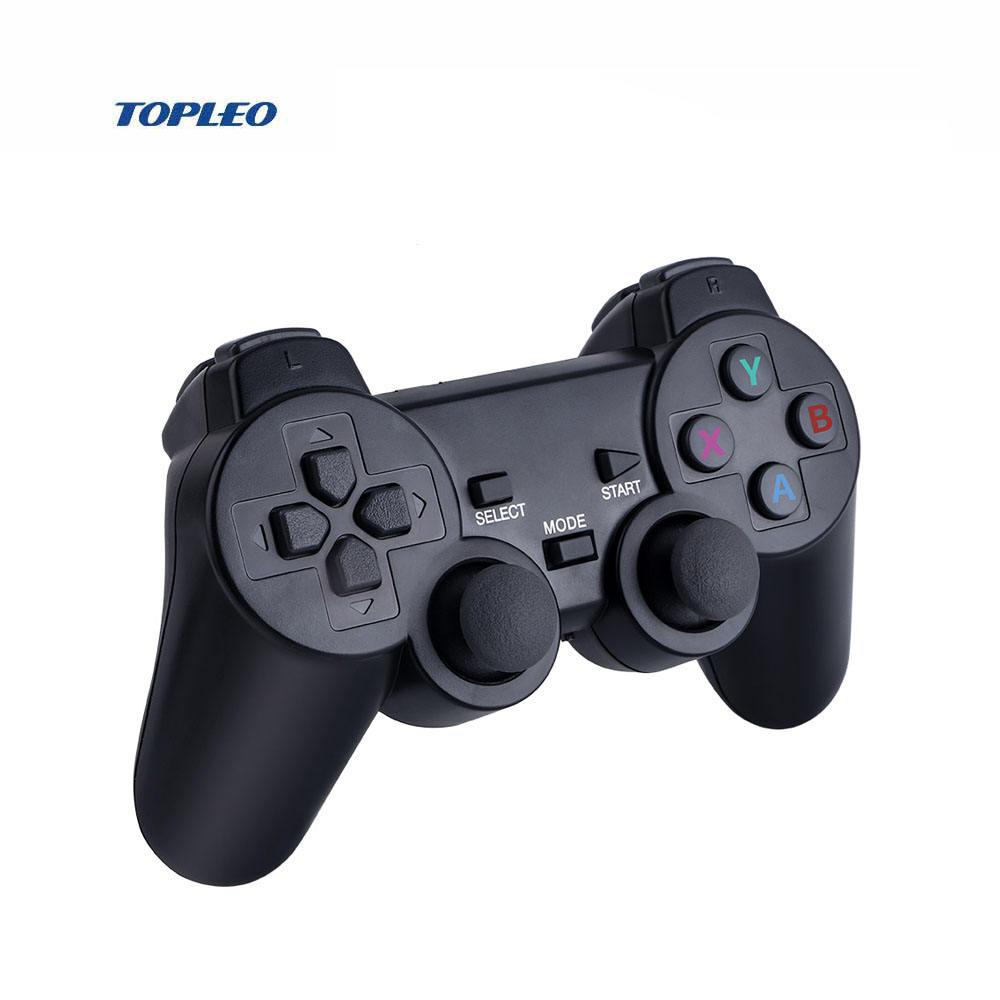 Drop Shipping Mobile Gamepad Controllers 2.4G Wireless Playstation Joystick For PS4 Dualshock 4.0-Blue