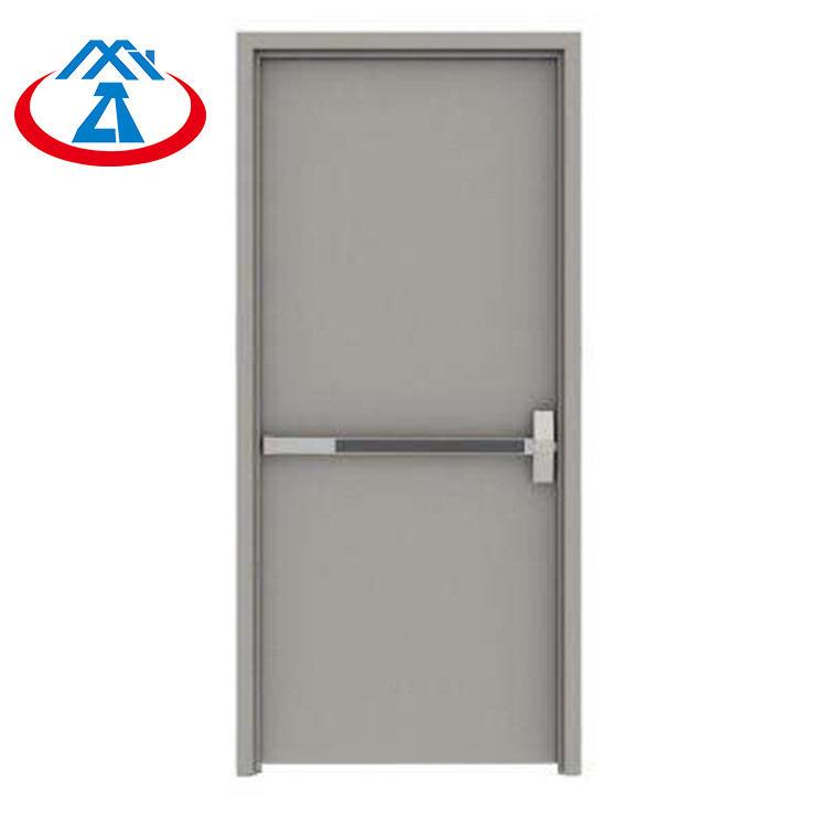 1600mm*2200mm Security Single Emergency Steel Fireproof Exit Door with Panic Bar