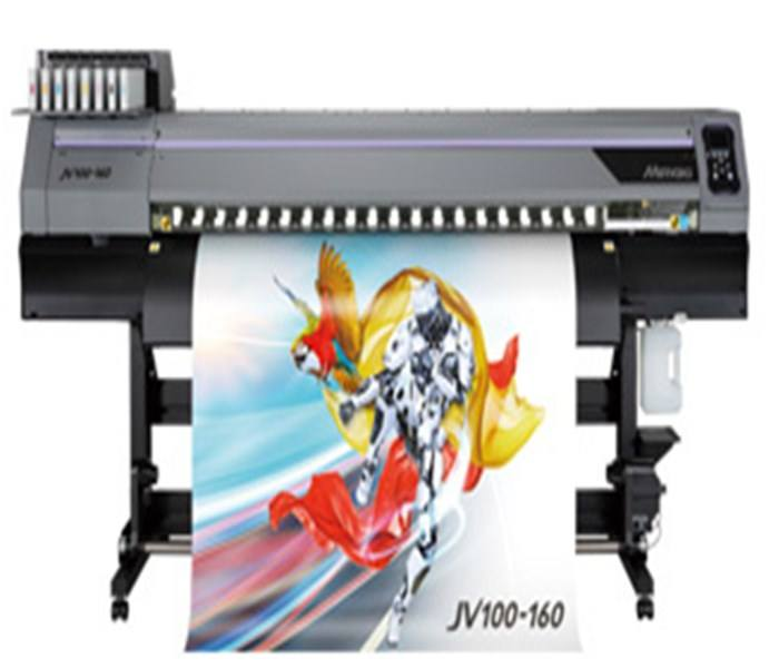 Mimaki new eco solvent printer JV100-160 with brother print head