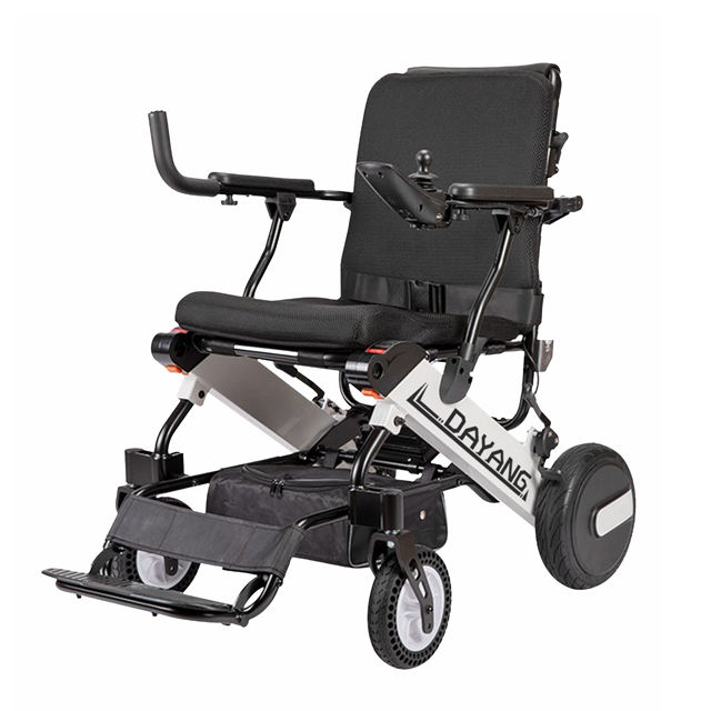 136KG Weight Capacity Heavy Duty Brushless Power Electric Wheelchair Folding for Europe Market