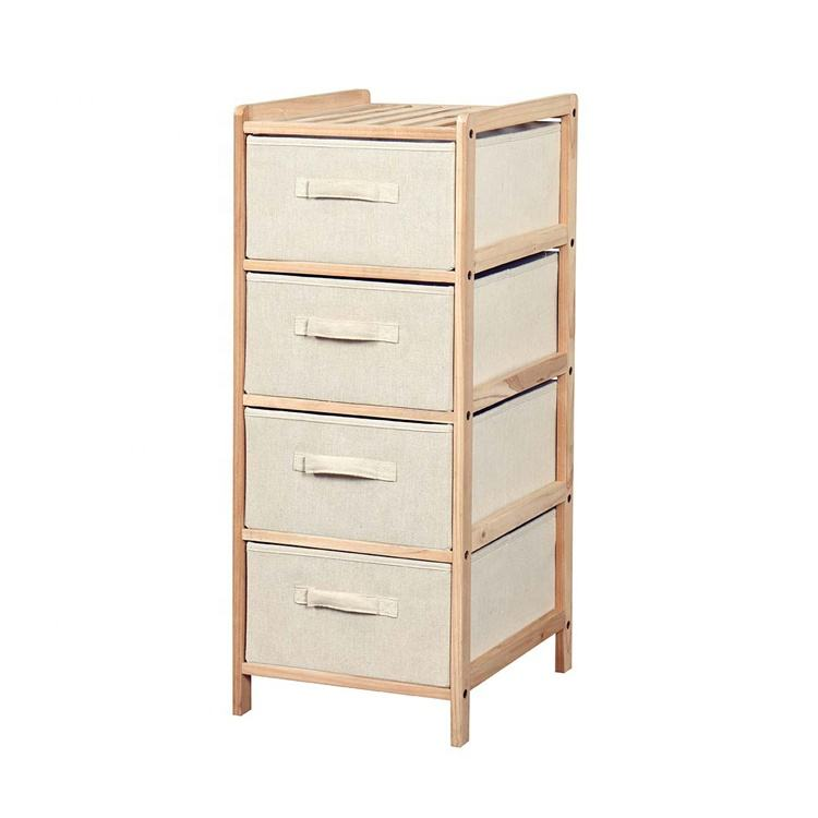 Sell Cheaper Non-Woven wood clothing storage cabinet drawers