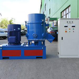China Gemaakt Plastic Film Agglomerator Voordat Plastic Recycling Pelletized Agglomerator Machine