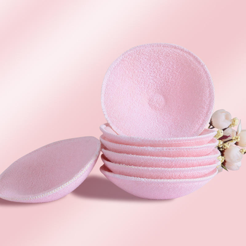 Reusable Soft Nursing Breast Pads Washable Anti-Galactorrhea Pads Spill Prevention Breast Pad