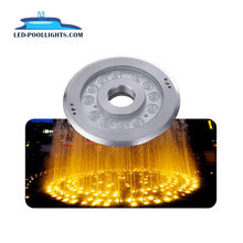 DC12V 24V Outdoor Waterproof Multi-Color Ring Led Submersible Underwater Fountain Lights