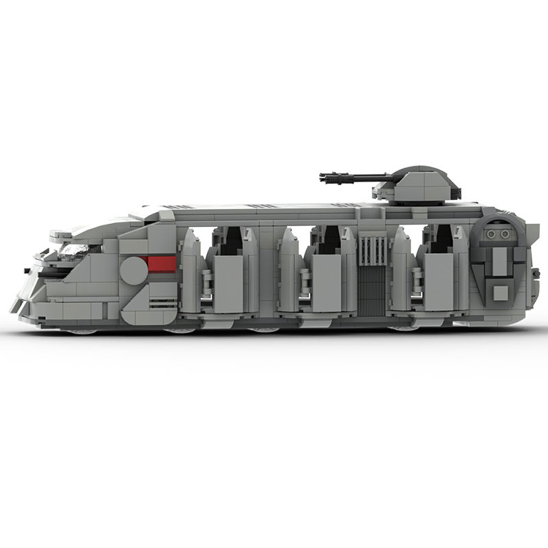 MOC Block Set Star Legoingly Wars Imperial Troop Transport Vehicle Car Educational Building Blocks Play Set Toys