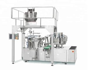 Automatic Intelligent Rotary Meat Chicken Food Vacuum Packaging Machine