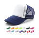 Cheap wholesale advertising promotional product custom logo branded sports mesh trucker caps and hats