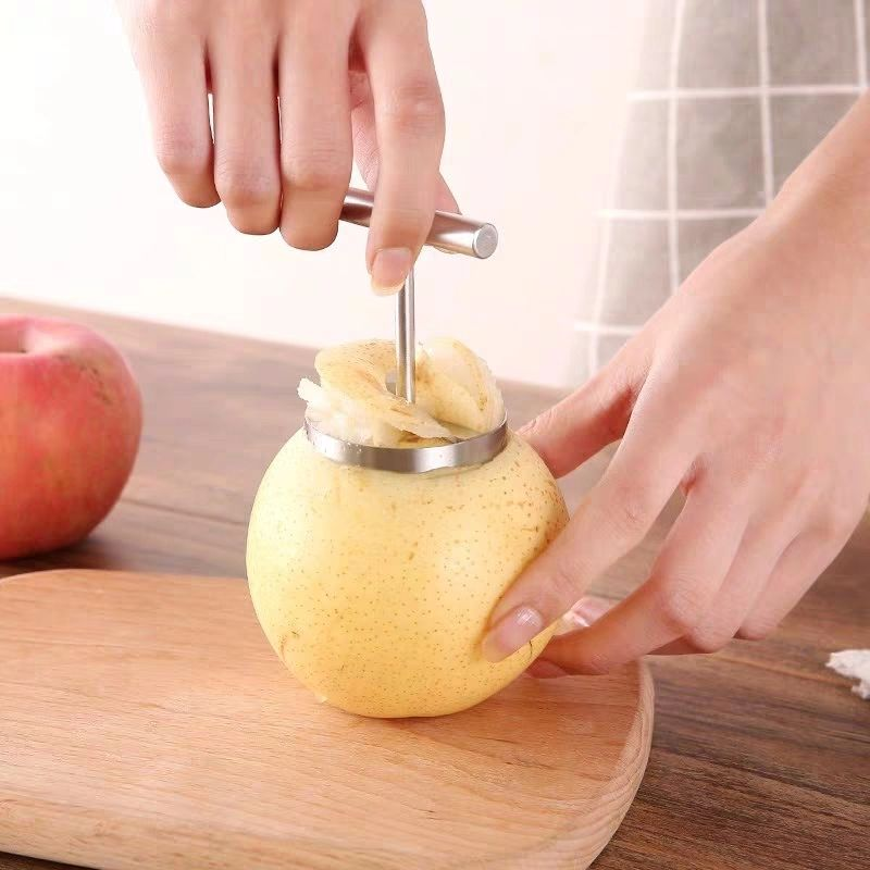 Low price practical fruit corers apples pear stem remover stainless steel durable fruit tools