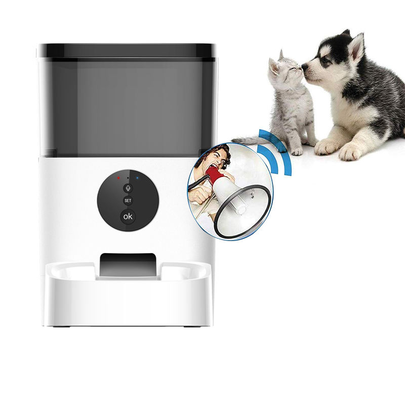 Best Choice Products Smart Automatic Pet Feeder with HD Camera, keyboard plate Enabled Smartphone App, Portion Control