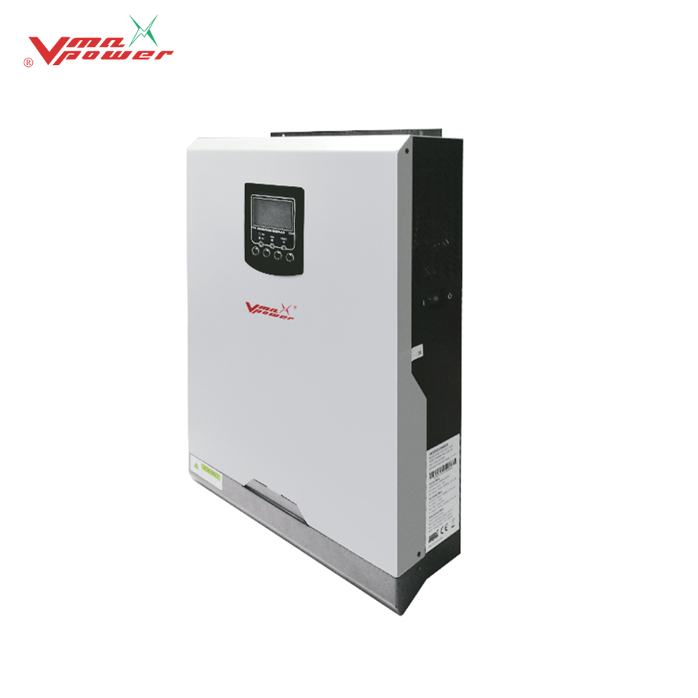 Vmaxpower 3Kva Hybrid Solar Inverter MPPT charger 24v Dc to Ac Inversor Off Grid Home Solar System 3kw Pure Sine Wave Inverter