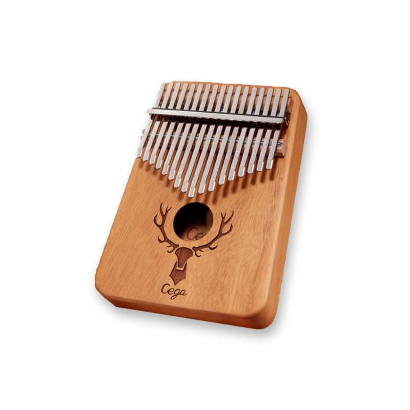 cega african percussion musical instrument hand drum 17 key mahogany kalimba for sale