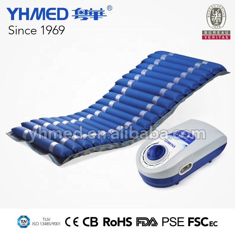 Massage Inflatable Import Mattress Low-cost Ripple Pvc Inflatable Air Mattress Medical Anti-decubitus