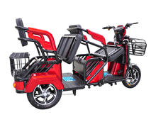 Paeenger two seat adult tricycle triciclo para adultos 3 wheel bicycle with max speed 30km/h