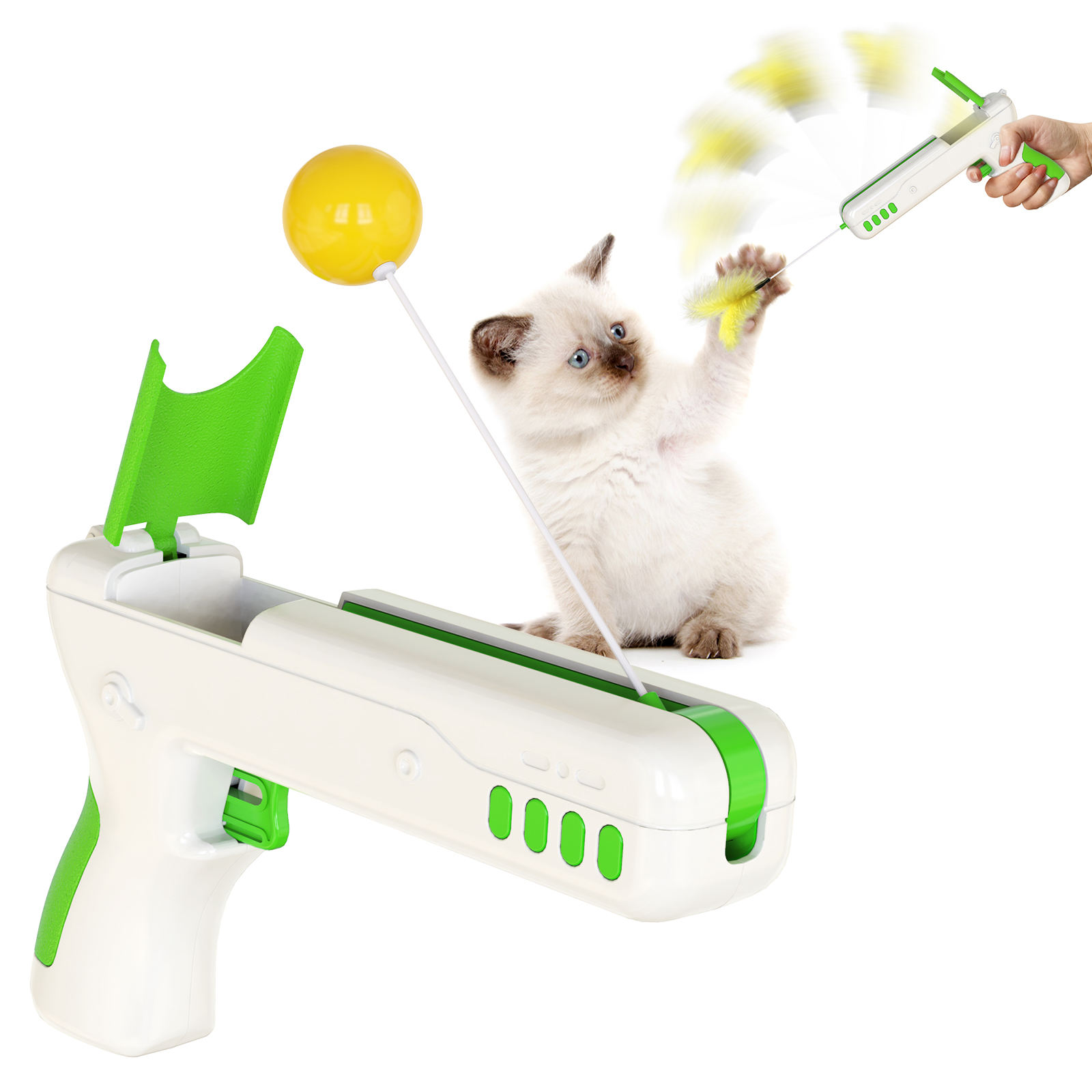 2020 Amazon wish best-selling products Hot sale Good quality pet toys Funny cat stick Will rebound