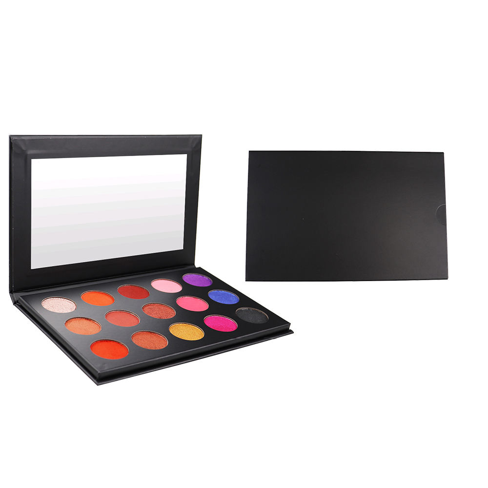 no logo 15 color eyeshadow palette in stock choice High light eye shadow Matte powder welcome OEM