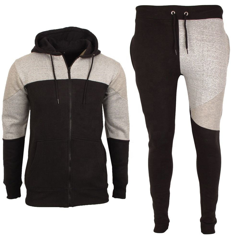 High quality fleece Training / Jogging / Walking fleece hooded Tracksuit top ranking track suit fleece cotton Pakistani supplier