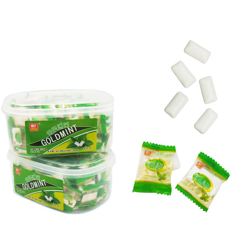 Factories Sugar Free Mint Chewing Gum Plastic Bottle