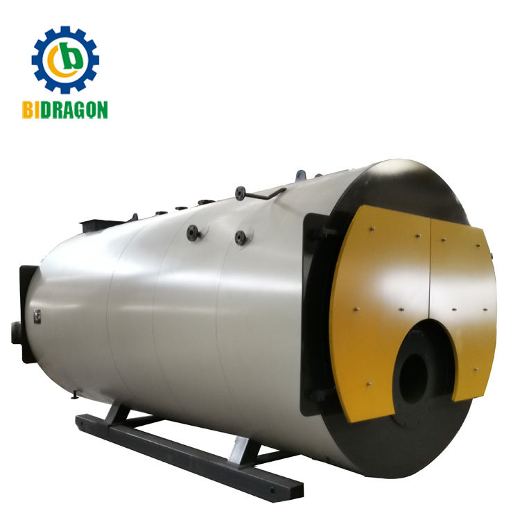 Bidragon Brand 1 Ton Oil Gas Fired Steam Boiler for Food Industrial
