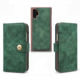 Vintage Velvet Multi Card Holder Flip Cover Detachable 2 IN 1 Phone Leather Wallet Case for Samsung Galaxy Note 10 Plus