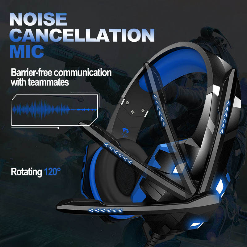Best Audifonos Para Gamer PS5 G9000 MAX Stereo Gaming Headset Headphones For PS4 PC Xbox 1 Controller