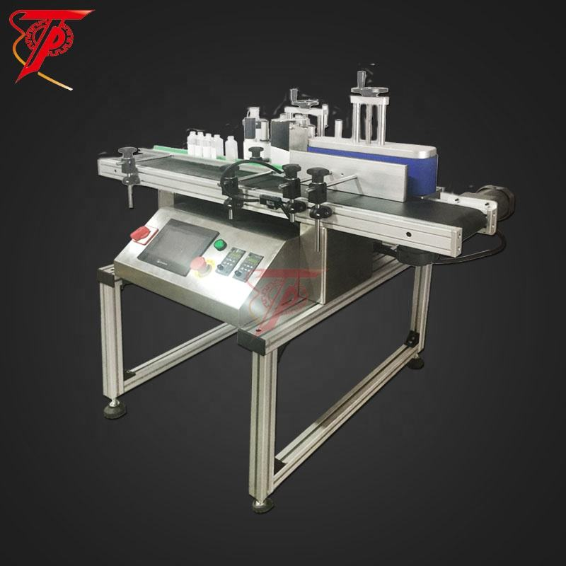 Automatic Manual professional table top round bottle sticker labeling machine
