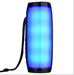 TG157 LED light outdoor portable multi-function Bluetooth speaker with lanyard