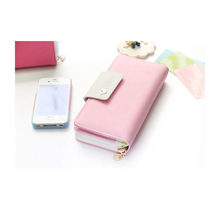 China wholesale Korean long section wallet women new phone wallet case