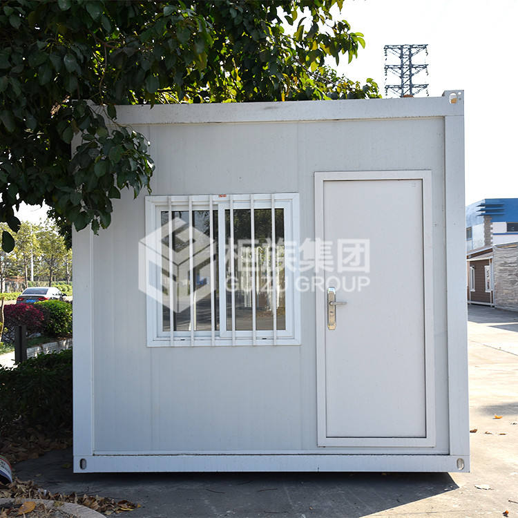 Flat Pack 20ft 40ft container hostel customized color galvanized light steel frames container house for hostel
