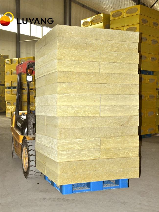 LUYANG BSTWOOL 50mm Thickness Rock Wool Insulation Board Mineral Wool Panel