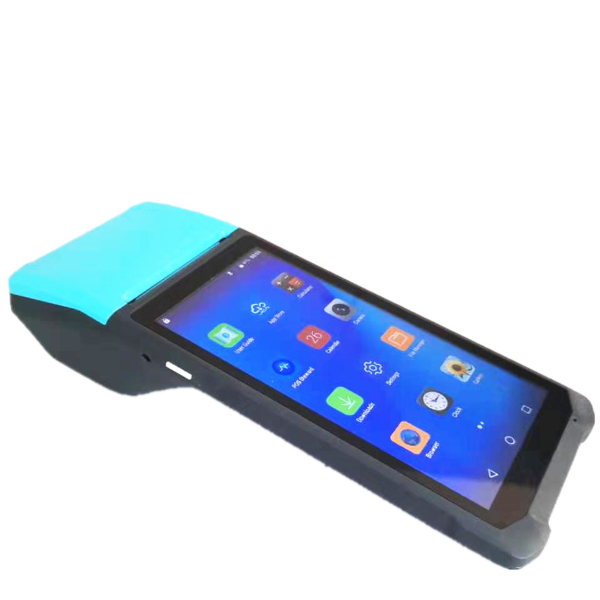 6.0inch pos system handheld touch screen android pos terminal support bluetooth wifi nfc QR code barcode reader
